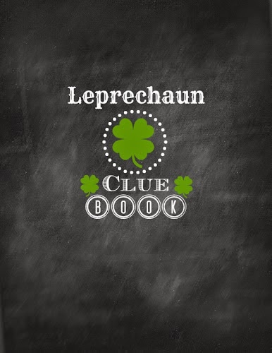Leprechaun Clue Book W/ Printable Cover