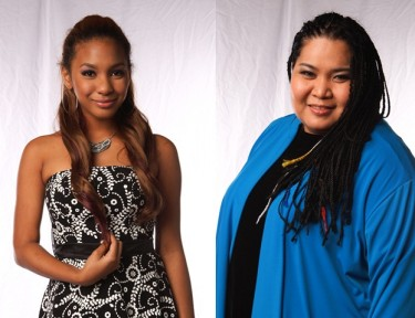 Janice Javier and Jessica Reynoso - Team Apl of The Voice of the Philippines