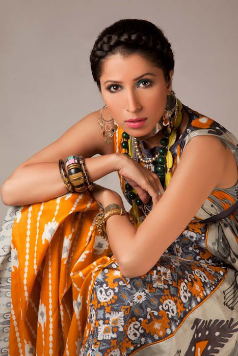 vaneeza v lawn collection 2011 cute stills