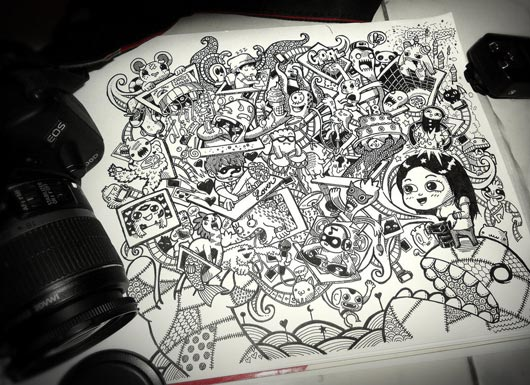 Doodle Art 40 Awesome Inspiration Examples