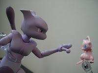 D-Arts Mewtwo Mew Bandai Pokémon Nintendo