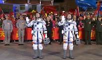 La misión espacial tripulada china Shenzhou-11 despega con éxito