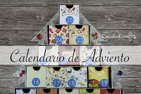 Calendario de adviento creativo qu - Que poner en un calendario de adviento ...