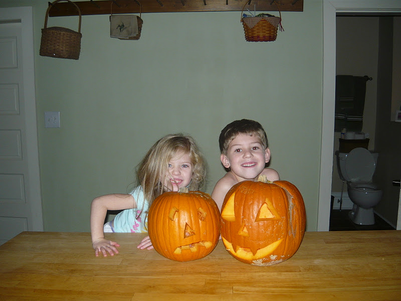 Poodle Pumpkin Carving Mommy to Carve Her Pumpkin