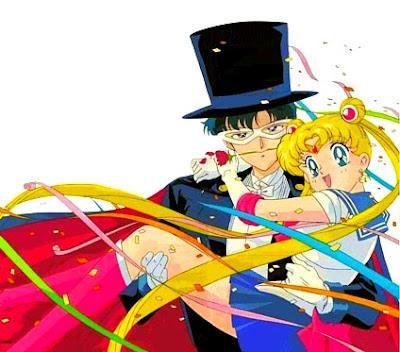 sailor moon and tuxedo mask  Sailor Moon