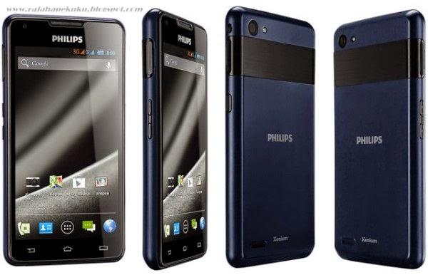 Harga Dan Spesifikasi Philips Xenium W6610 Terbaru, Memiliki Tenaga Battery 5300 mAh