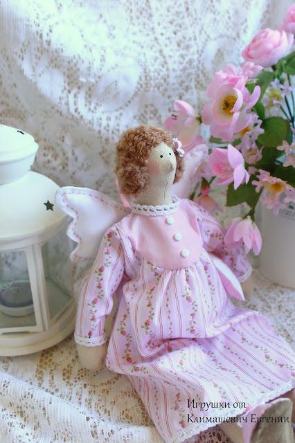 Ангел, сонный ангел, тильда ангел, спящий ангел, сплюшка, сплюх, ангел сна, тильда, кукла тильда, ангел тильда, игрушка, игрушка ручной работы, игрушка своими руками, шебби, шебби шик, шебби стиль, розовый, нежный, нежность