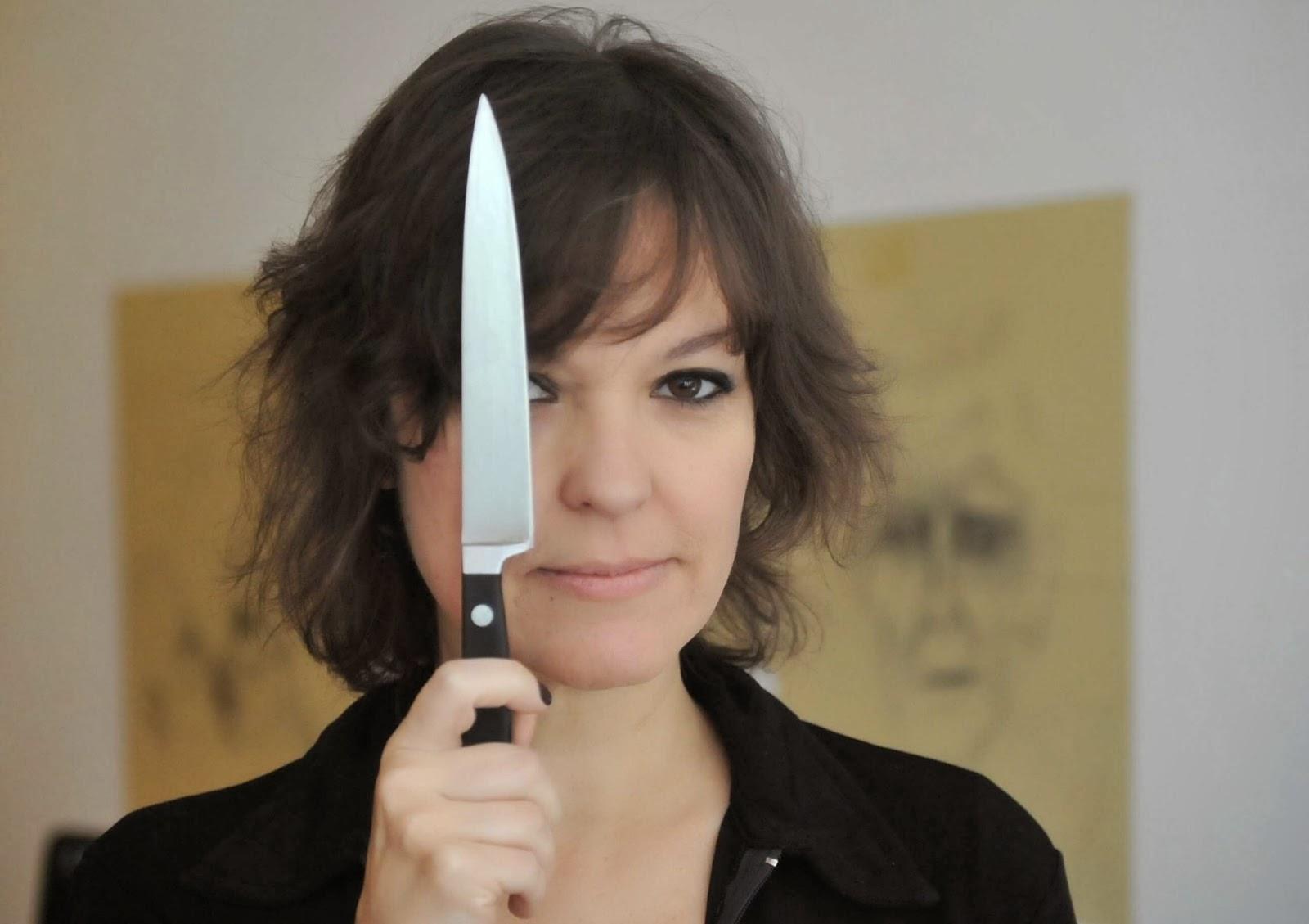 Cómo usar un cuchillo, prensa.