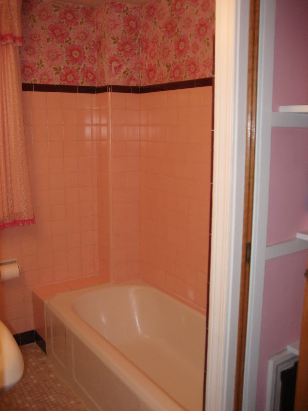 West Pear Avenue: No More Pink Bathroom