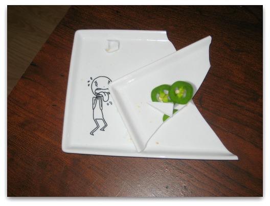 oliver appetizer plate jalapeno cb2