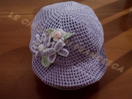 Le chicche di francesca cappellino con visiera for Cappellino con visiera