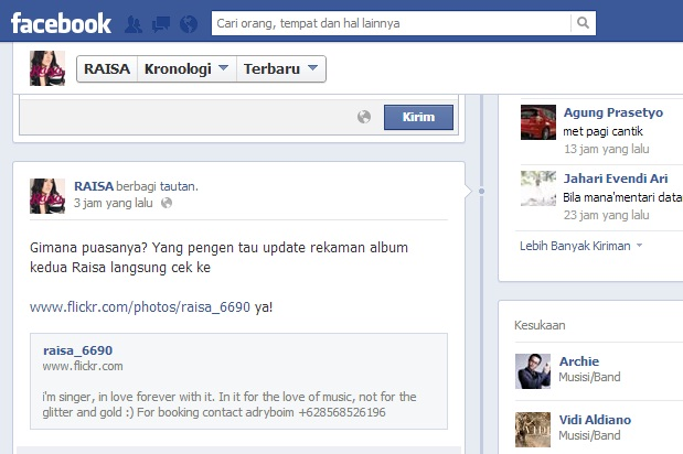 Raisa: Persiapankan Album Ke-2