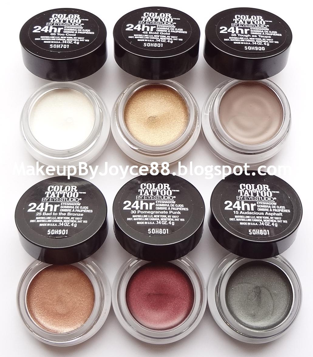 Review swatches maybelline color tattoo metal 24hr cream gel review swatches maybelline color tattoo metal 24hr cream gel eyeshadow maybelline color tattoo color tattoo and maybelline baditri Image collections