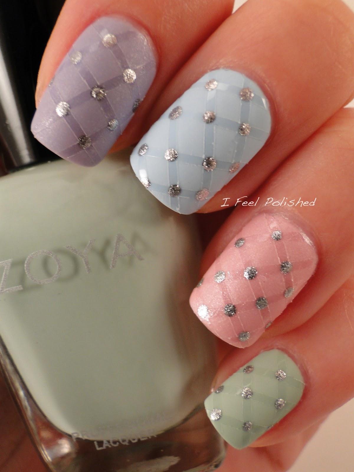 i feel polished easter nails