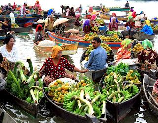 Wisata Pasar Terapung
