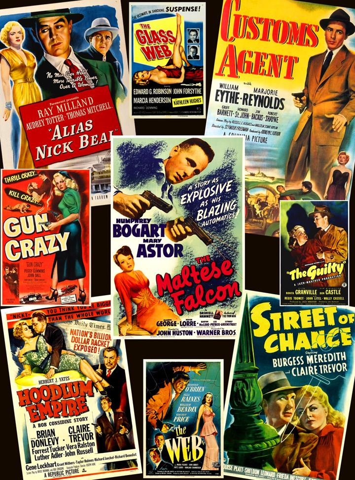 Studio Of Style Guns Guys Dames Film Noir Posters