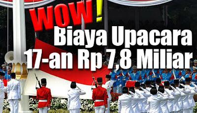 Biaya Perayaan HUT RI ke-67 di Istana Negara Rp 7,8 Miliar