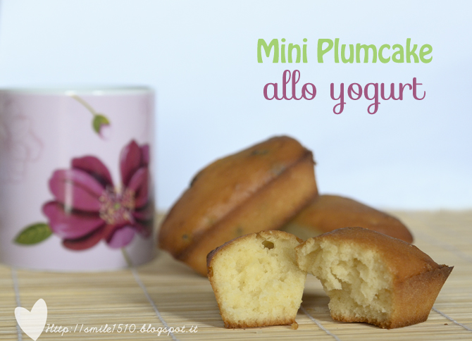 mini plumcake soffice e morbido