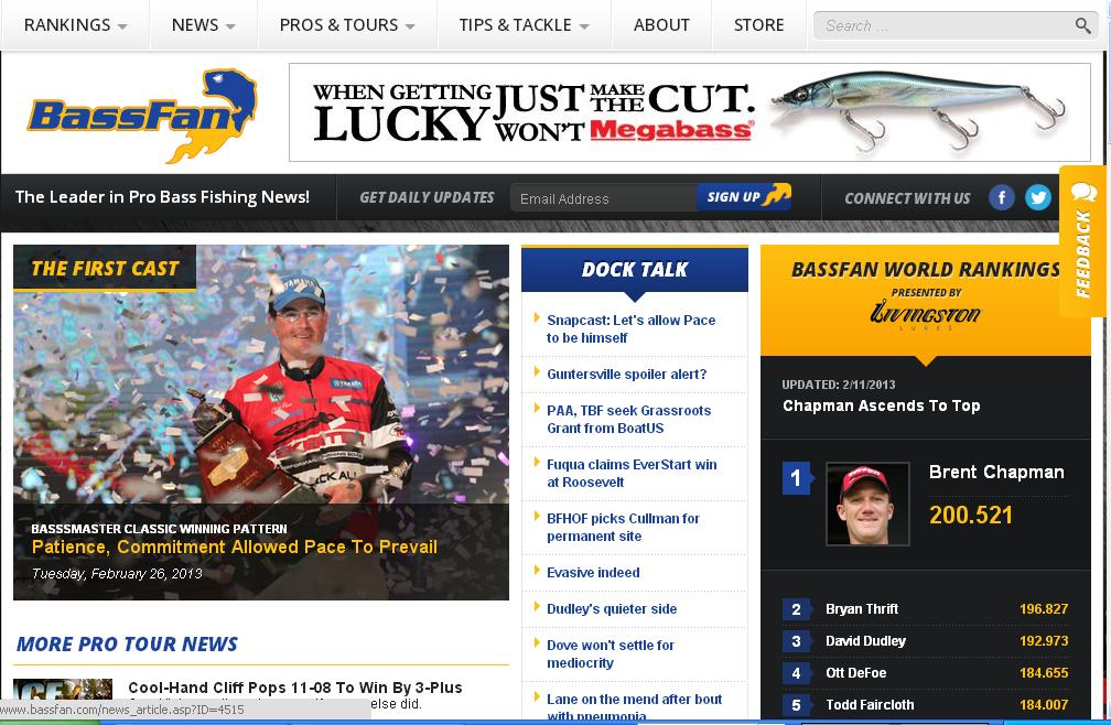 Bass pundit the new look for Bassfan