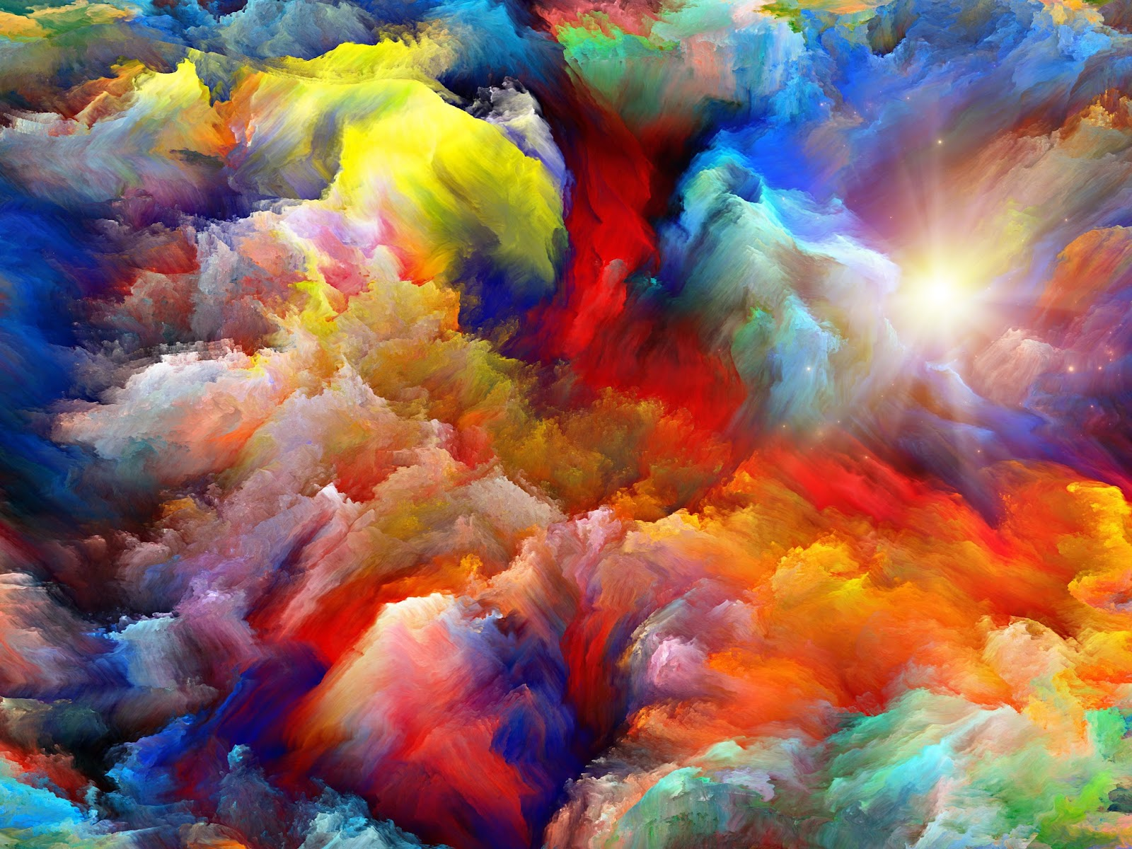 colourful fantasy cloud backgrounds | naveengfx