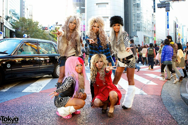 Fashion Tokyo, Gyaru, Gal, Girl