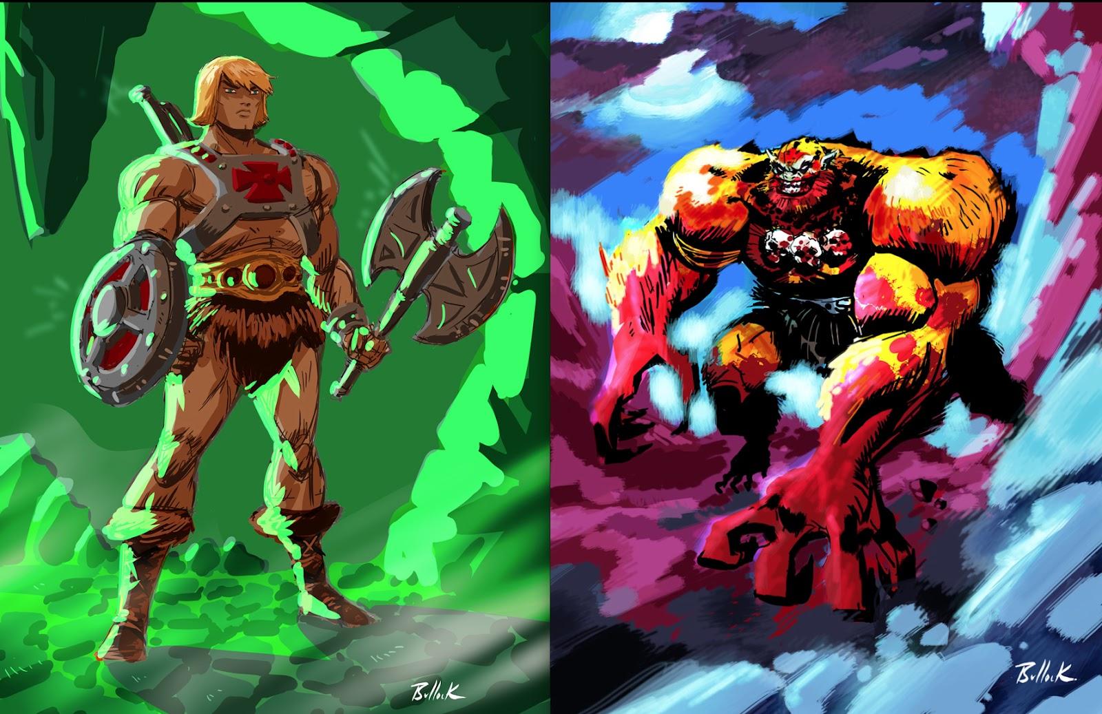 skeletor vs beast man - HD1600×1037