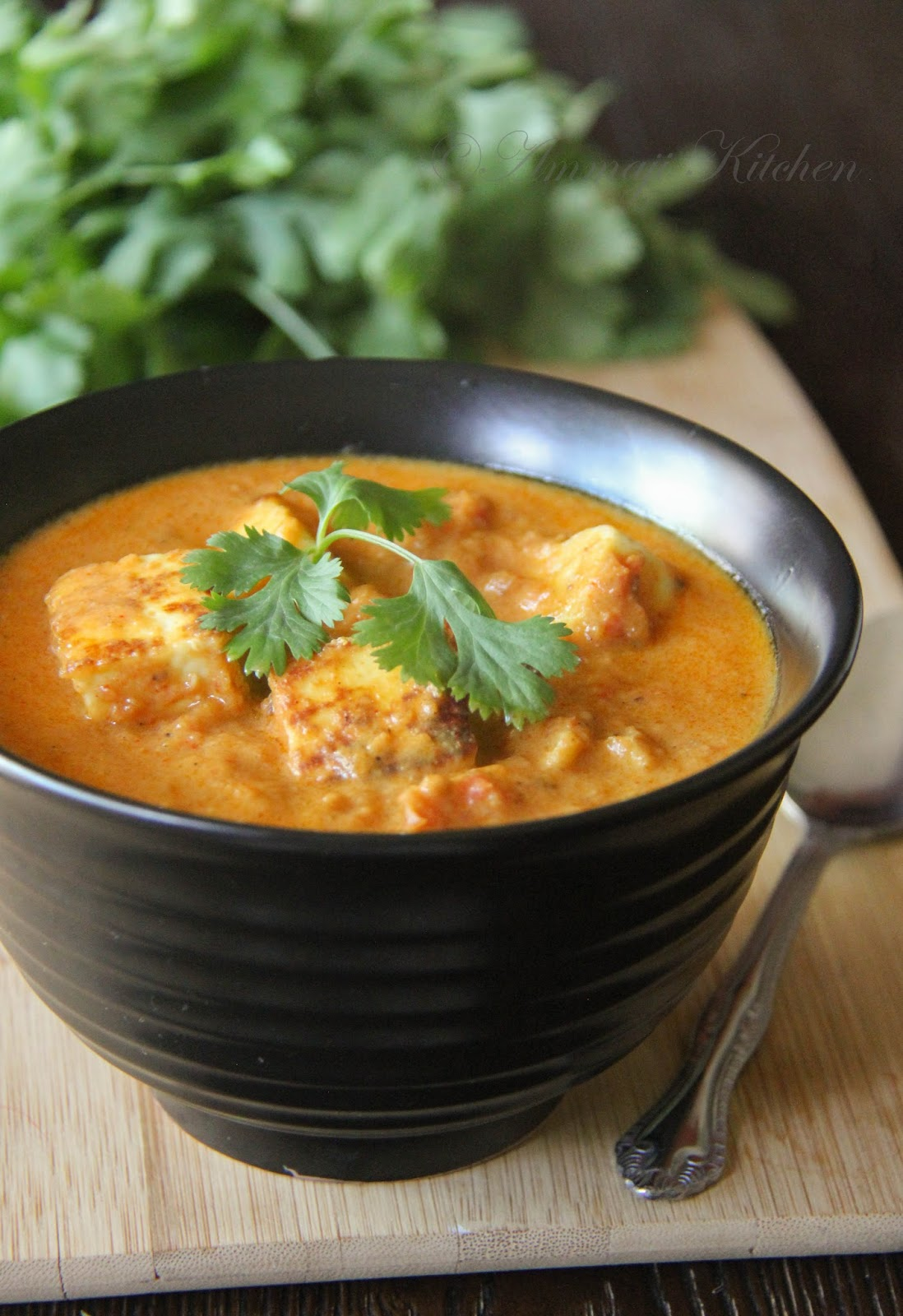 Paneer Masala Curry