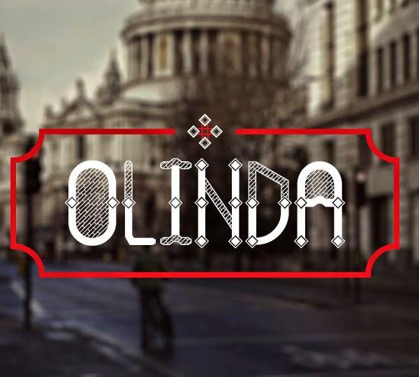 Olinda free font