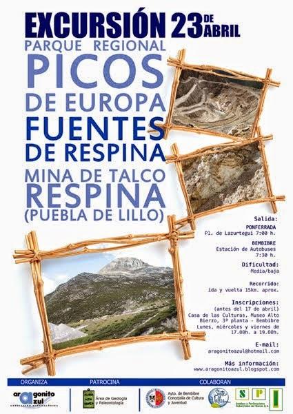 Excursión a mina Respina, Fuentes de Respina, Parque Regional de los Picos de Europa