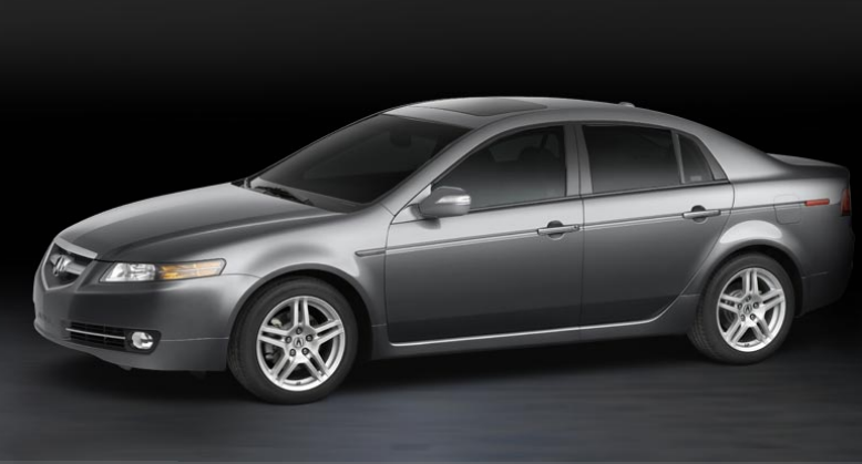 Car Models 2007 Acura Tl Type S 5 Spd At W Performance Tires