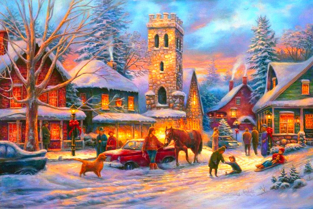 country-side-street-images-children-playing-in-snow-people-bust-evening-pictures-drawings-1200x800-44.jpg