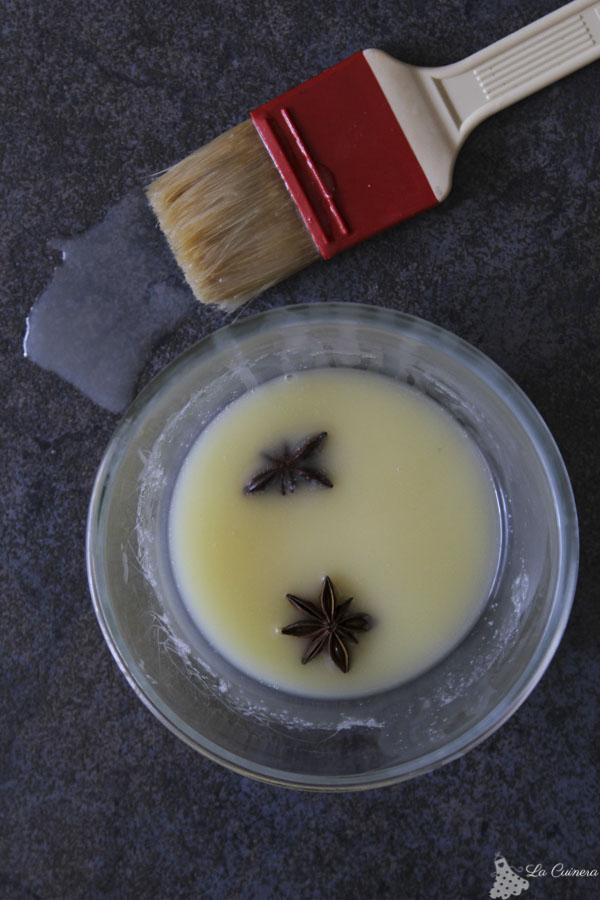 Receta coca de San Juan con anís estrellado