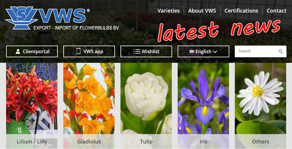 VWS Export - Import of Flowerbulbs BV