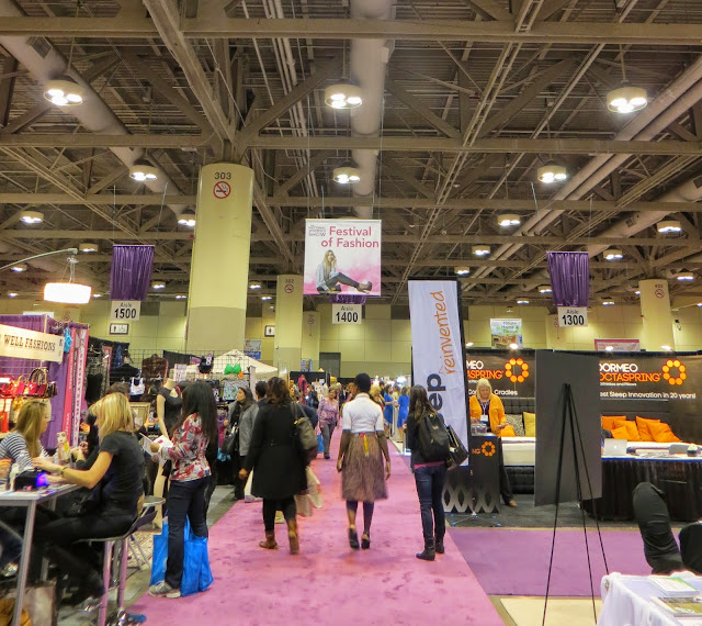 The National Wome's Show, Toronto, Lifestyle, fashion, beauty, products, vendors, samples, girls weekend, shopping, event, ontario, canada, fun, 2014, the purple scarf, melanieps
