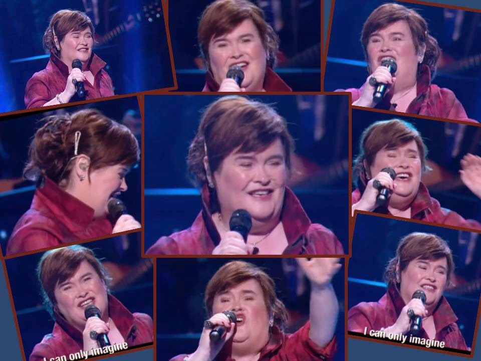 Susan Boyle, Lakewood Church, Houston, TX -Oct 19, 2014