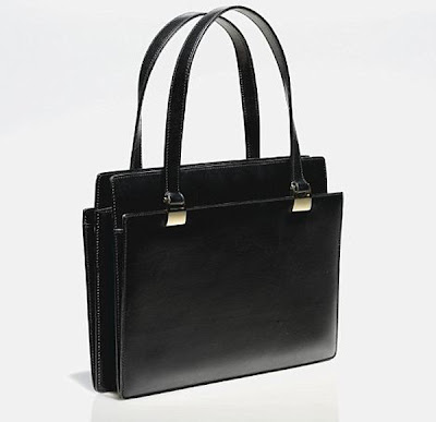 Margaret Thatcher Black Handbag