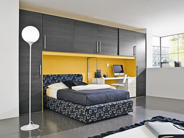 Small Modern Bedroom modern bedroom design ideas for small bedrooms - the interior designs