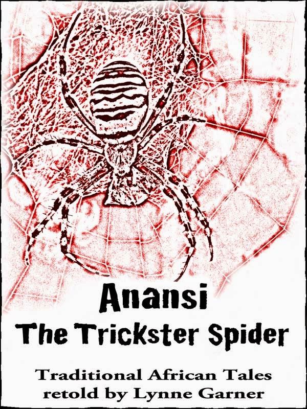 http://www.amazon.co.uk/Anansi-Trickster-Spider-Lynne-Garner-ebook/dp/B00629VR7S/