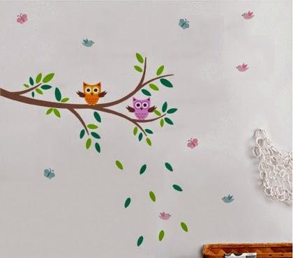 50 Adesivos de parede para quarto infantil