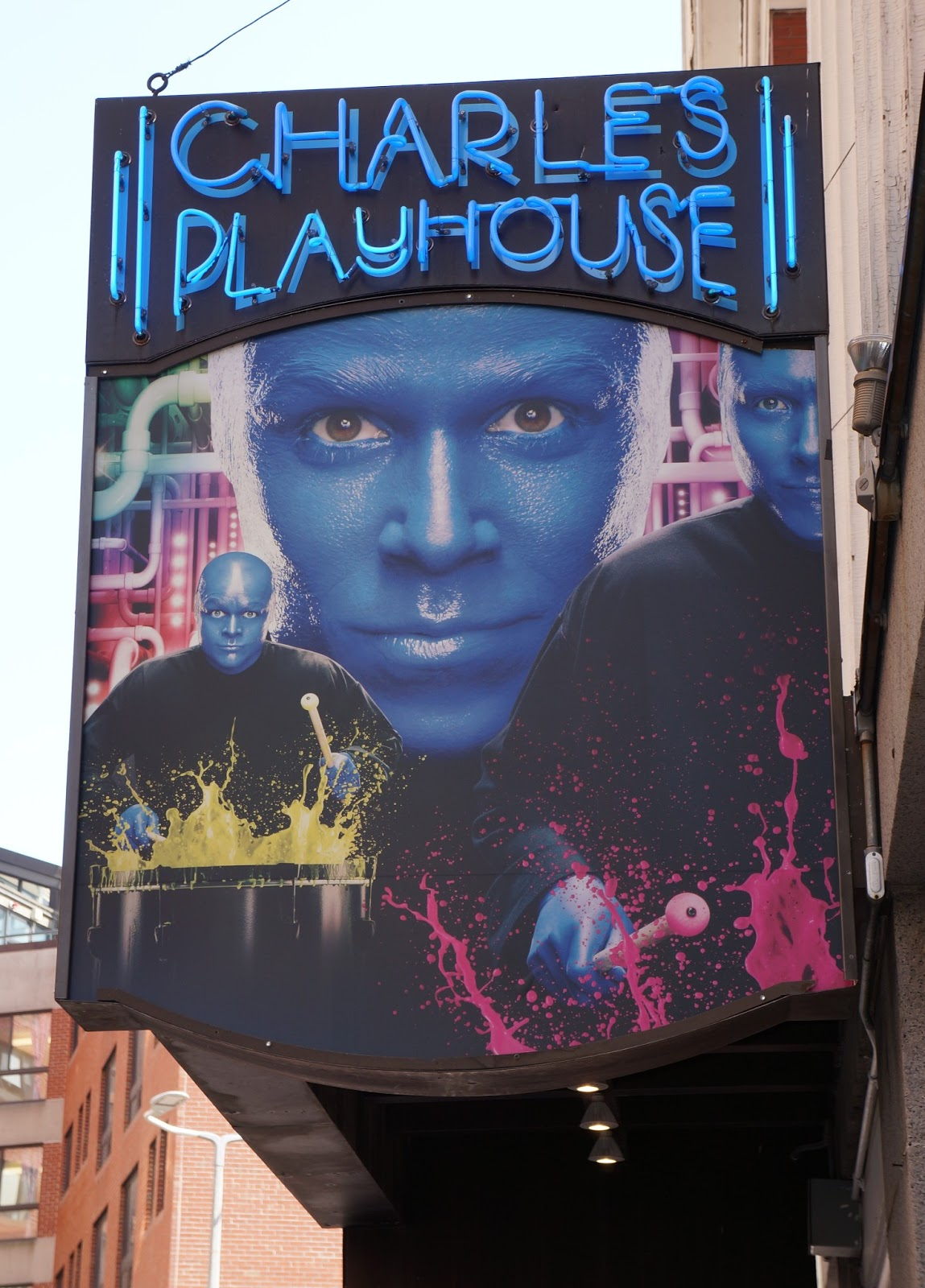 Evan and lauren 39 s cool blog 11 9 16 blue man group celebrates 25 years - Blue man group box office ...