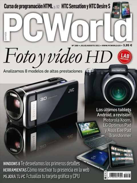 Revista: PC World [España] - Julio 2011 [40.90 MB | PDF]