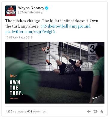 Rooney y Nike 'se salvan', esta vez, de una nueva sanción de la Advertising Standards Authority