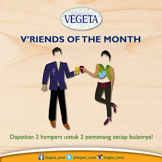 Info Kuis - Jadi Vriends of The Month Vegeta Berhadiah Hampers