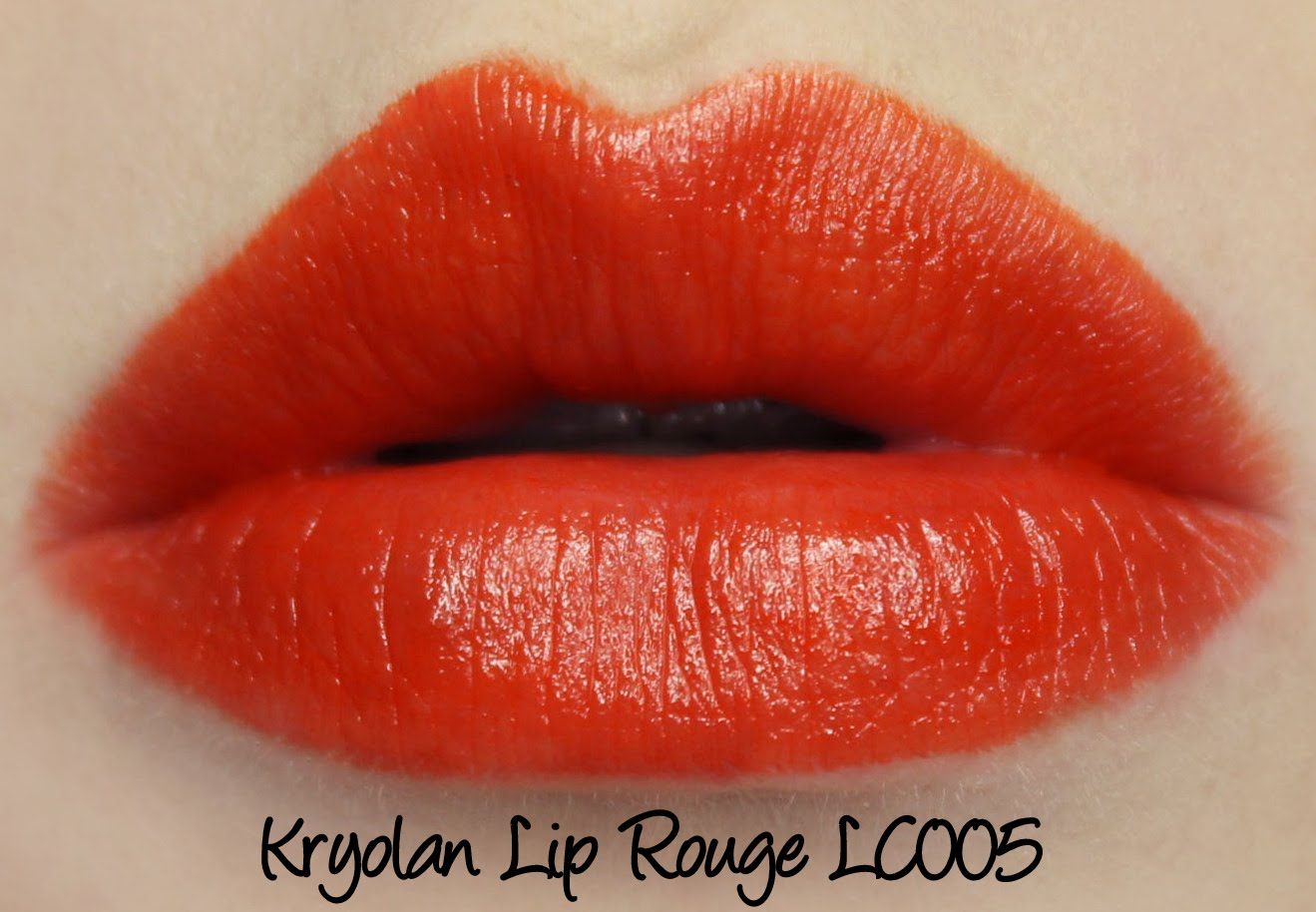 Kryolan Lip Rouge Classic Lipstick LC005 Swatches & Review