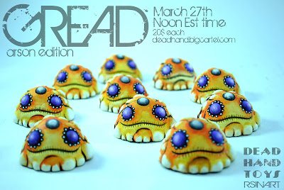 Rsin x Dead Hand Toys Custom Gread Resin Figures