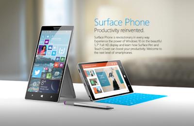 Mengintip Surface Phone dari Microsoft