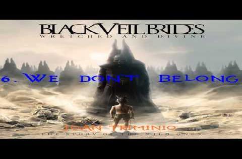 black veil brides we dont belong cover