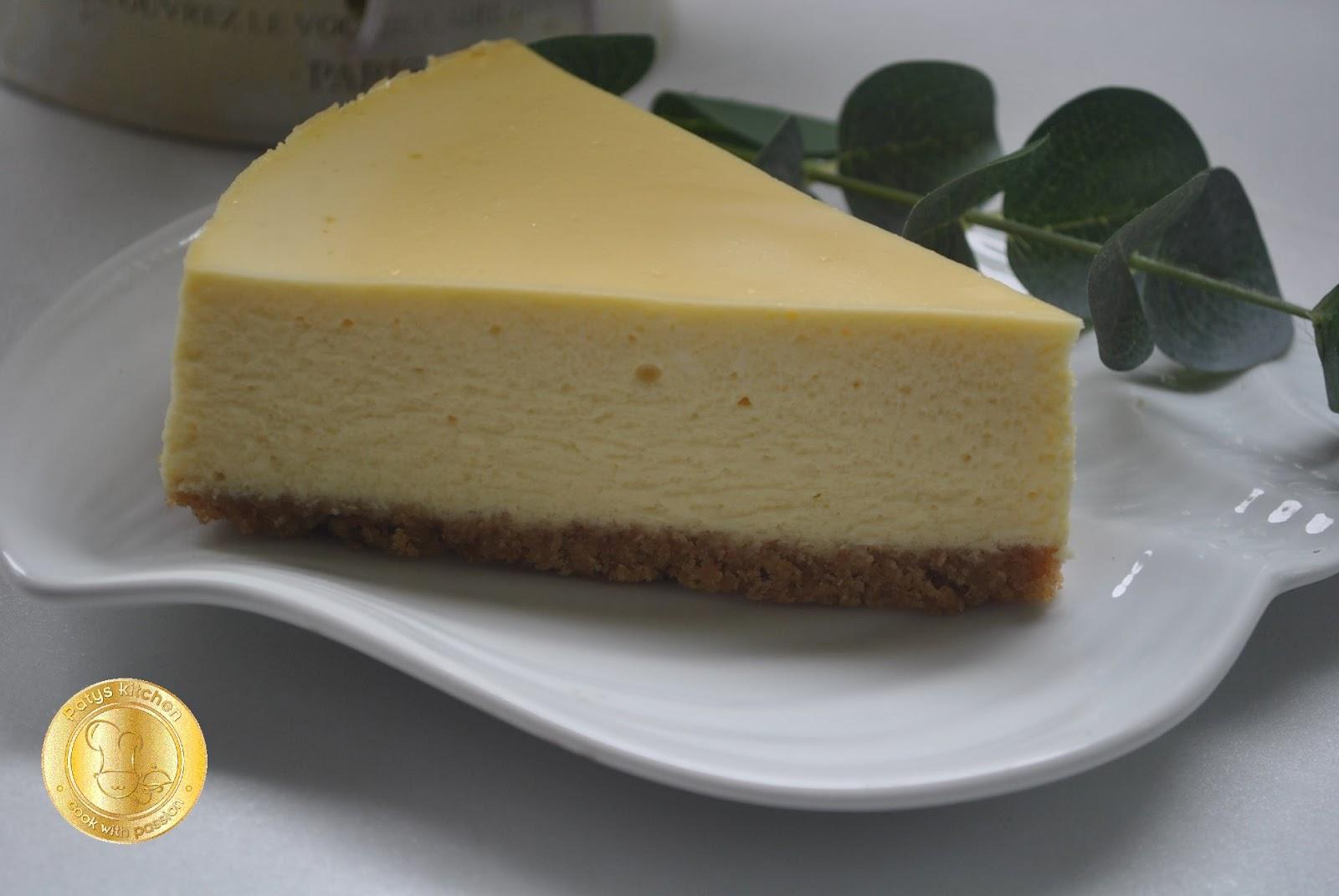 Patyskitchen The Making Of New York Cheesecake