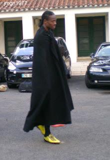 Tras el juego, Abdoulaye era un