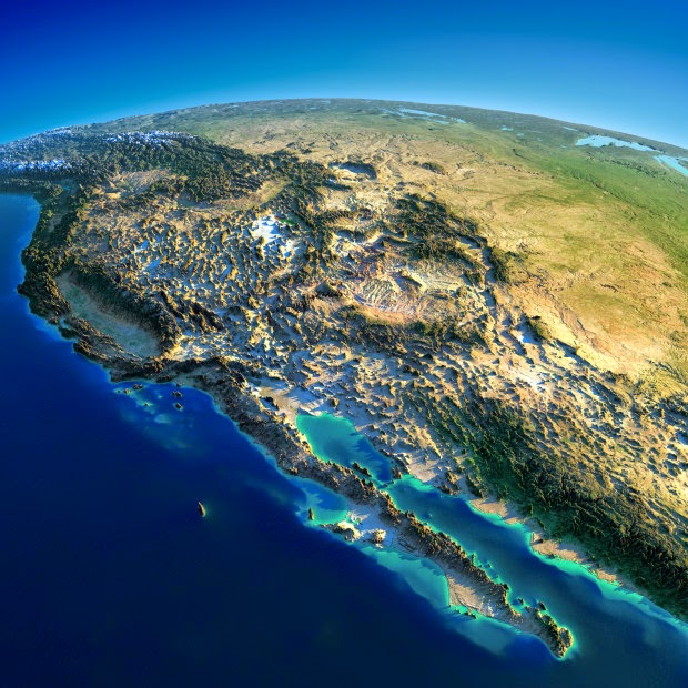 western united states and mexico fascinating relief maps show the worlds mountain ranges